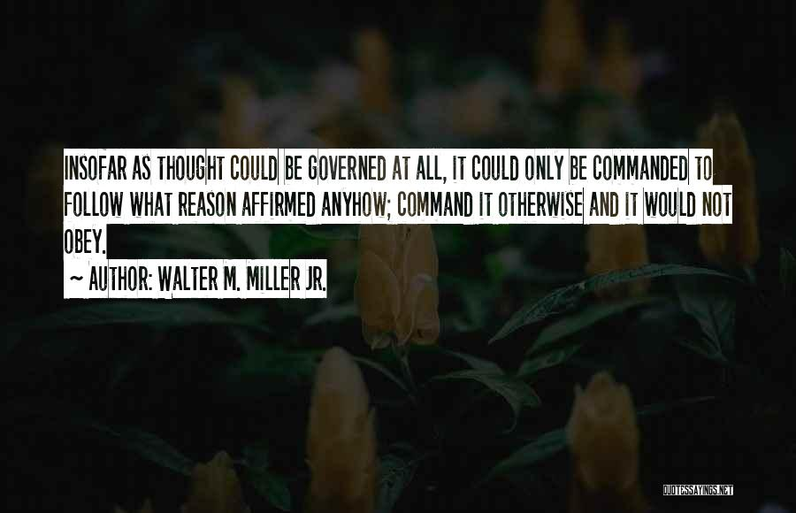 Walter M. Miller Jr. Quotes 1255078