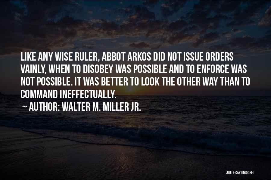 Walter M. Miller Jr. Quotes 678112