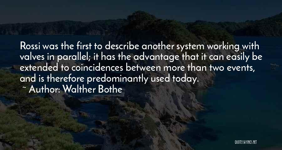 Walther Bothe Quotes 710904