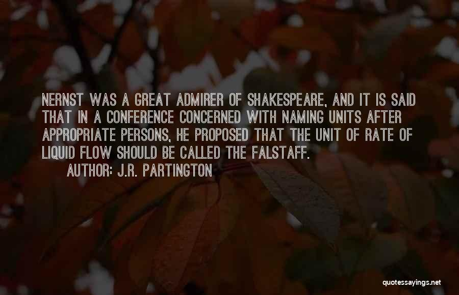 Walther Quotes By J.R. Partington