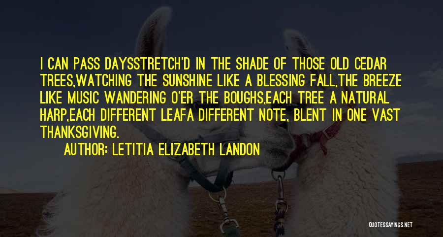 Wandering In Nature Quotes By Letitia Elizabeth Landon