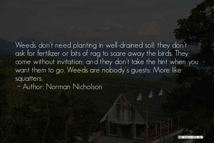 Want To Go Away Quotes By Norman Nicholson