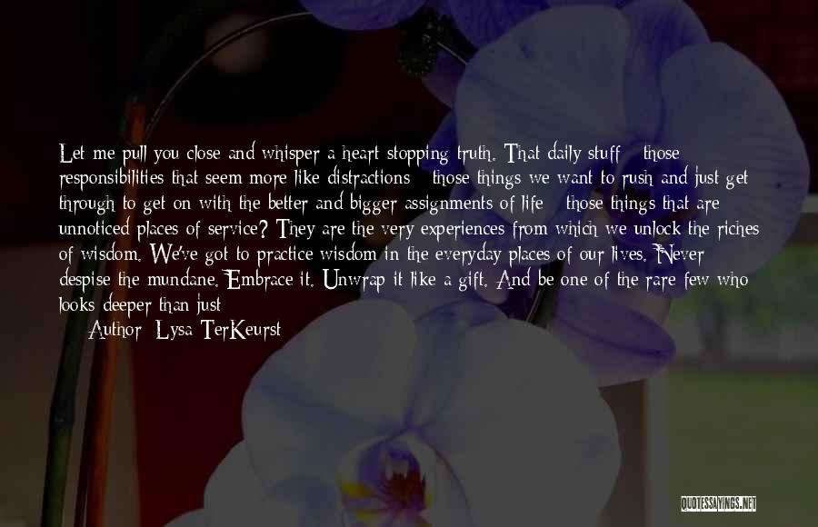 Want To See Quotes By Lysa TerKeurst