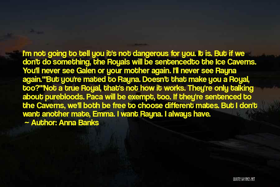 Want To See You Again Quotes By Anna Banks