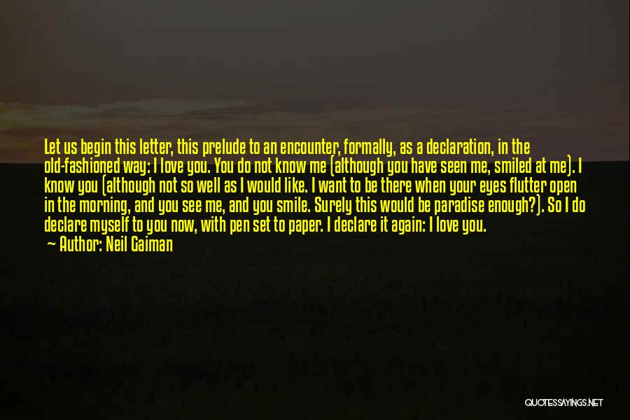 Want To See You Again Quotes By Neil Gaiman