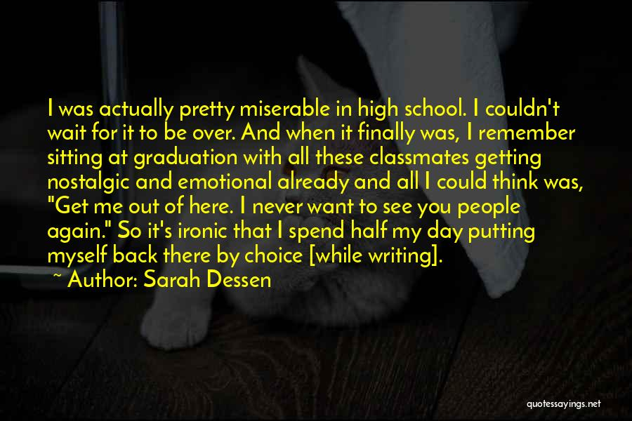 Want To See You Again Quotes By Sarah Dessen