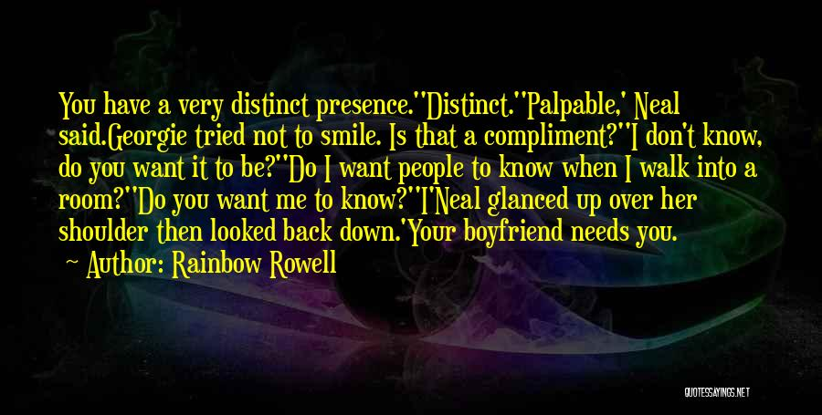 Want To Smile Quotes By Rainbow Rowell