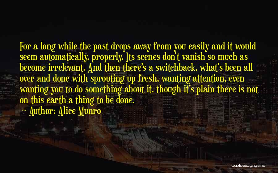 Want Vanish Quotes By Alice Munro