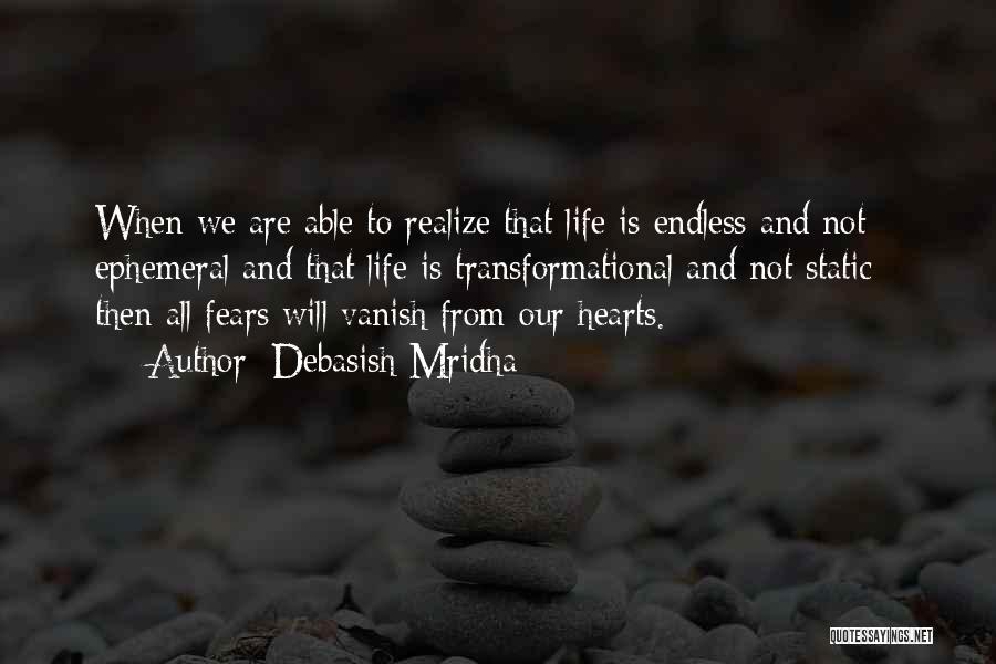 Want Vanish Quotes By Debasish Mridha