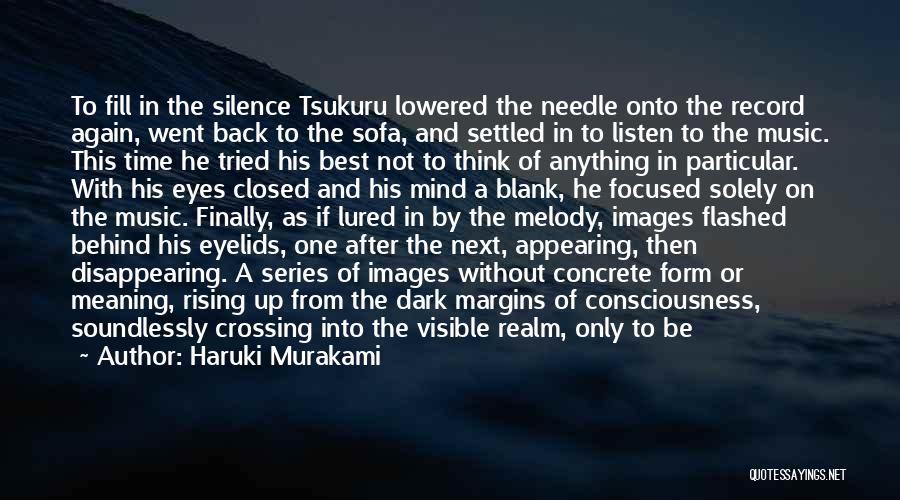 Want Vanish Quotes By Haruki Murakami