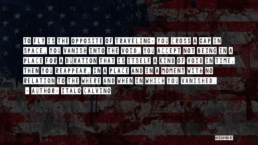 Want Vanish Quotes By Italo Calvino