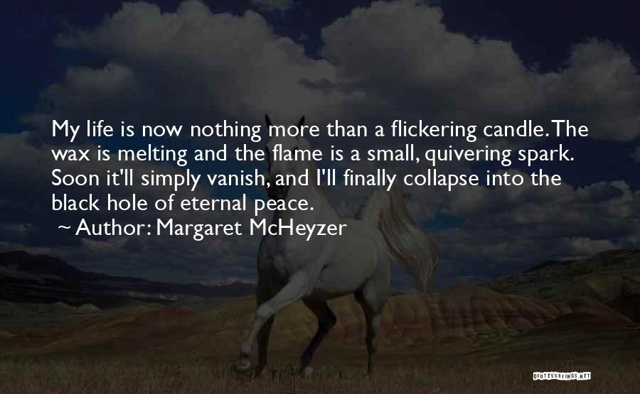 Want Vanish Quotes By Margaret McHeyzer