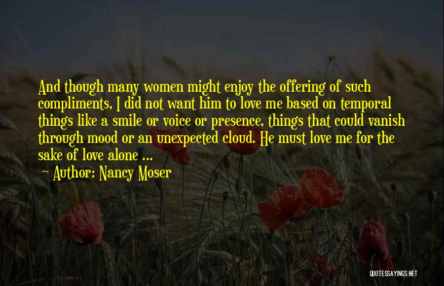 Want Vanish Quotes By Nancy Moser