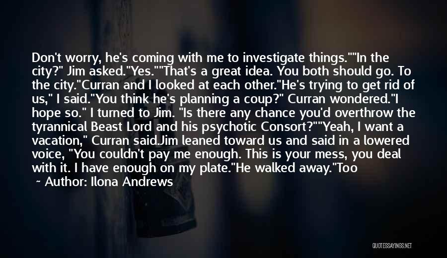 Want You Bad Quotes By Ilona Andrews