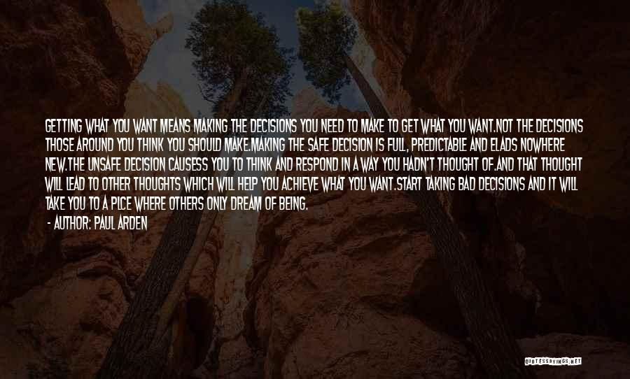Want You Bad Quotes By Paul Arden