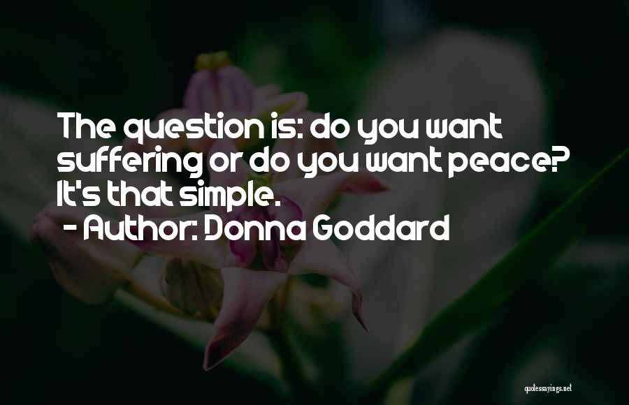 Want You Love Quotes By Donna Goddard