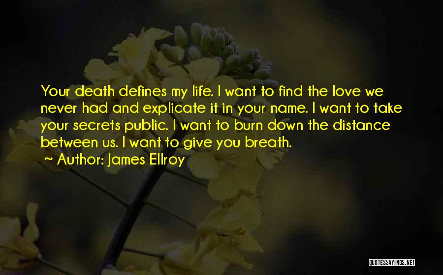 Want You Love Quotes By James Ellroy