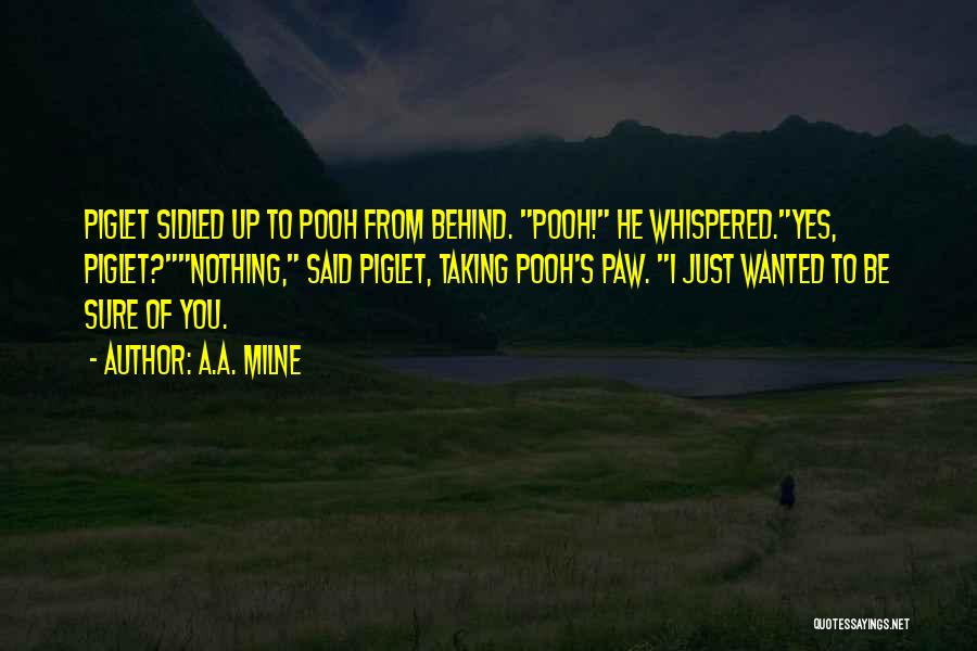 Wanted Quotes By A.A. Milne
