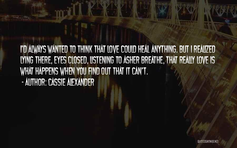 Wanted Quotes By Cassie Alexander