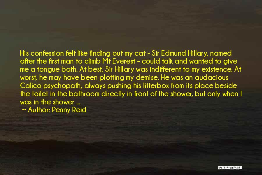 Wanted To Talk Quotes By Penny Reid