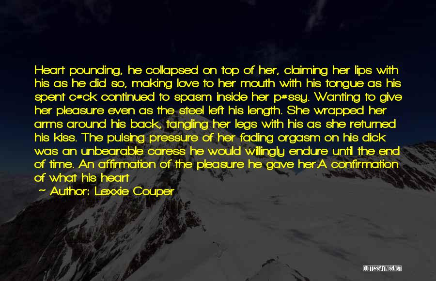 Wanting Love Back Quotes By Lexxie Couper