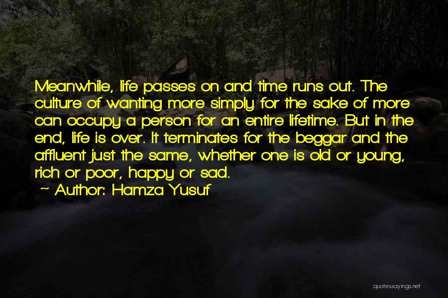 Wanting One Person Quotes By Hamza Yusuf