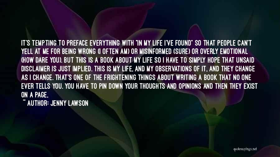 Wanting One Person Quotes By Jenny Lawson
