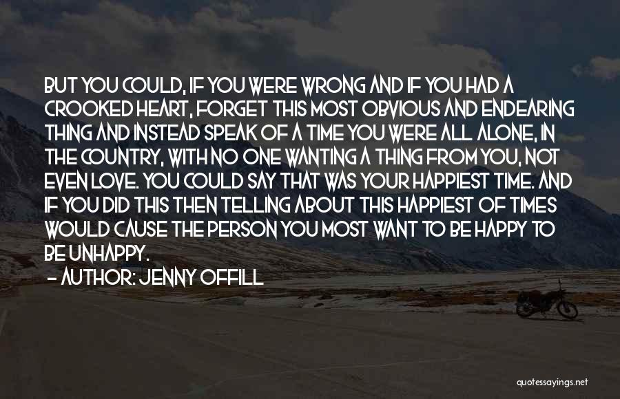 Wanting One Person Quotes By Jenny Offill
