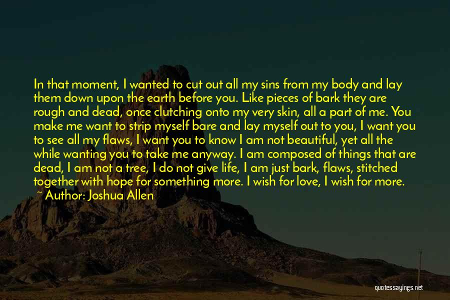 Wanting Something In Life Quotes By Joshua Allen