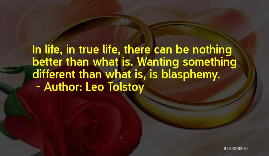 Wanting Something In Life Quotes By Leo Tolstoy