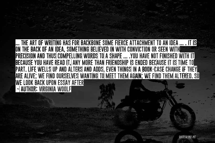 Wanting Something In Life Quotes By Virginia Woolf