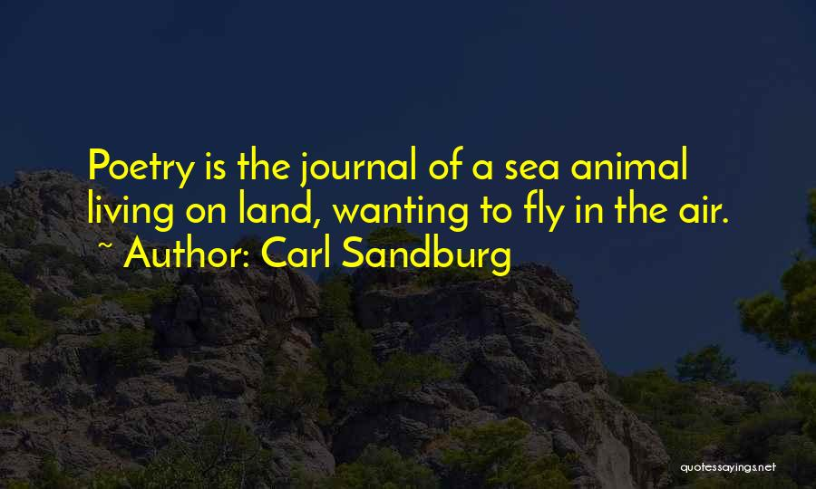 Wanting To Fly Quotes By Carl Sandburg
