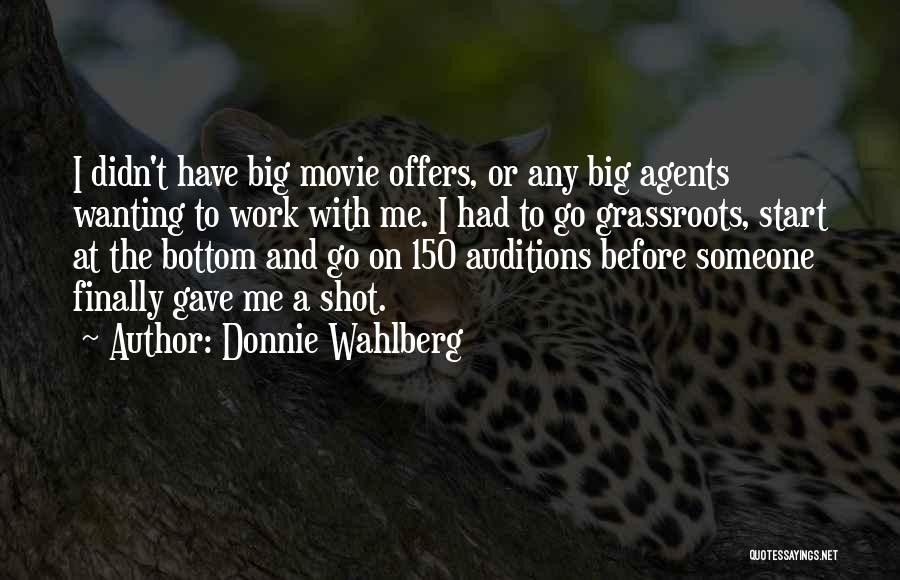 Wanting To Start Over With Someone Quotes By Donnie Wahlberg
