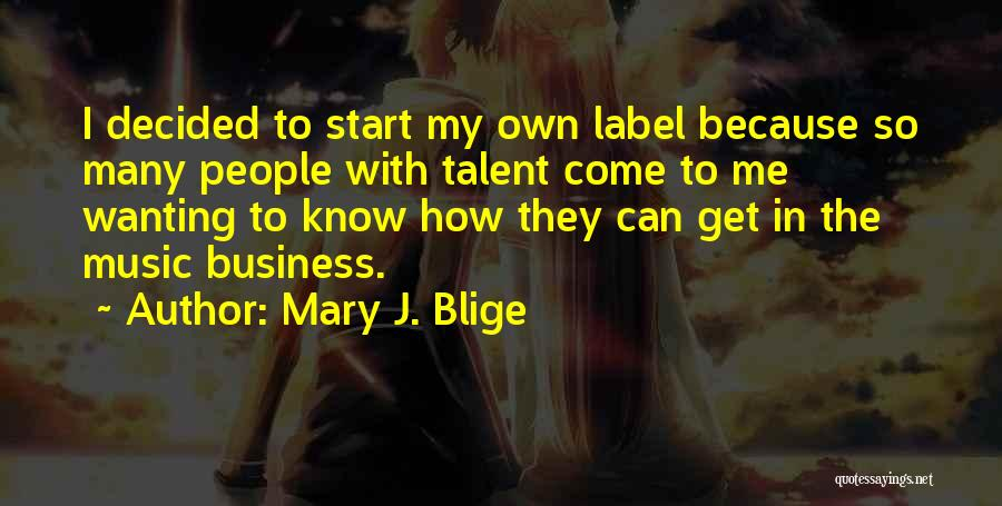 Wanting To Start Over With Someone Quotes By Mary J. Blige