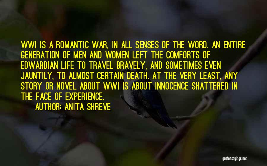 War And Innocence Quotes By Anita Shreve