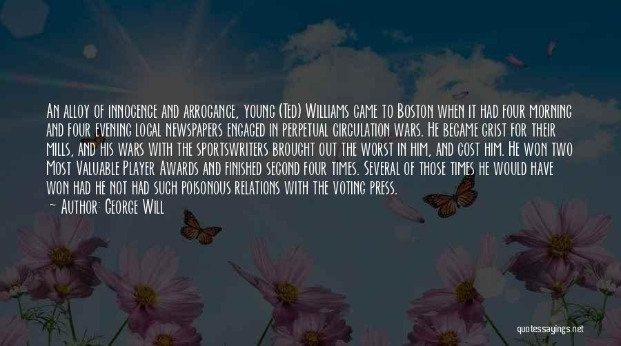 War And Innocence Quotes By George Will