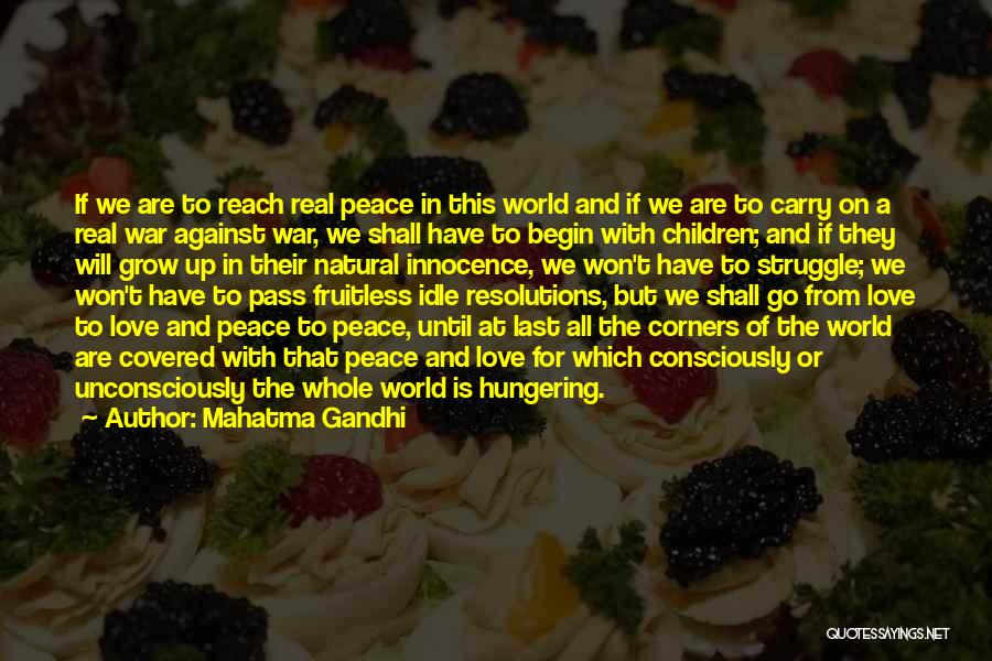 War And Innocence Quotes By Mahatma Gandhi