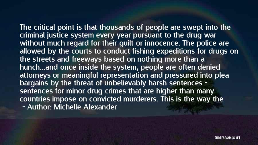War And Innocence Quotes By Michelle Alexander