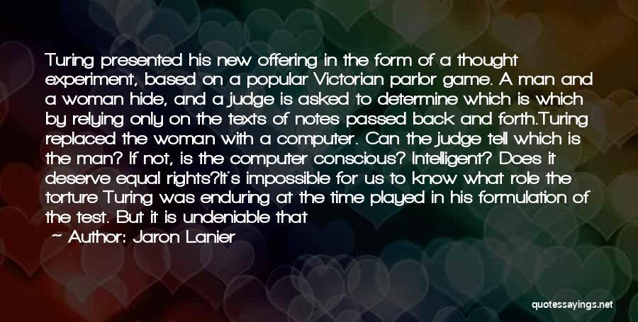 War And Technology Quotes By Jaron Lanier