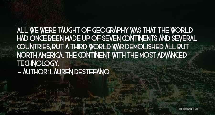 War And Technology Quotes By Lauren DeStefano