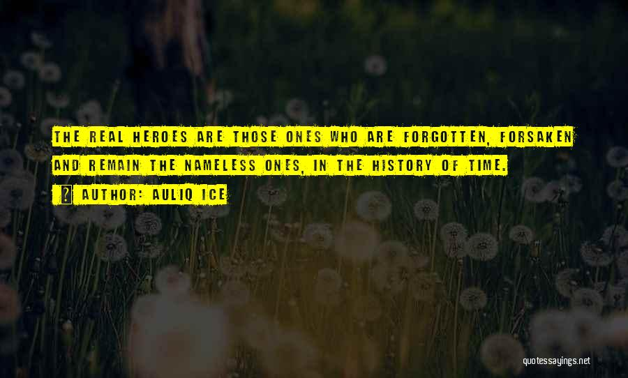 War Heroes Quotes By Auliq Ice