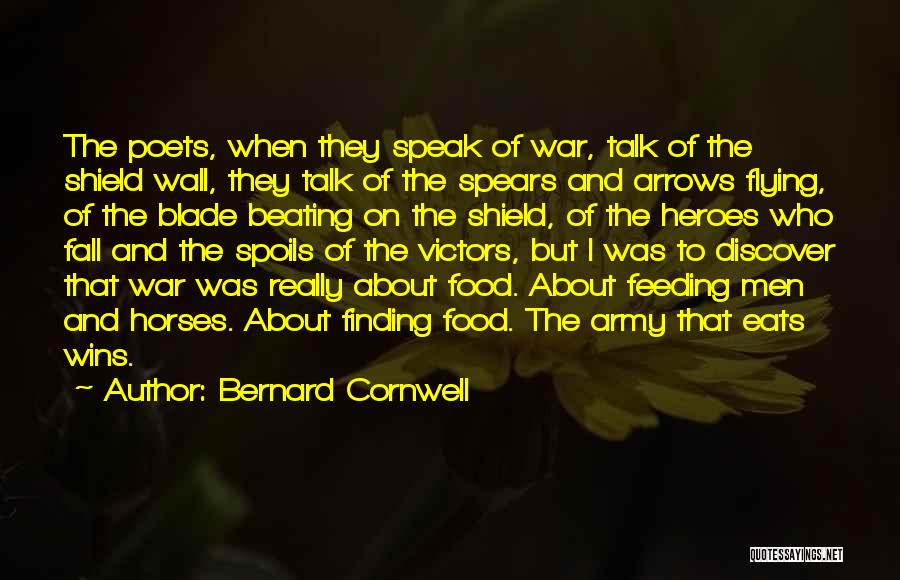 War Heroes Quotes By Bernard Cornwell