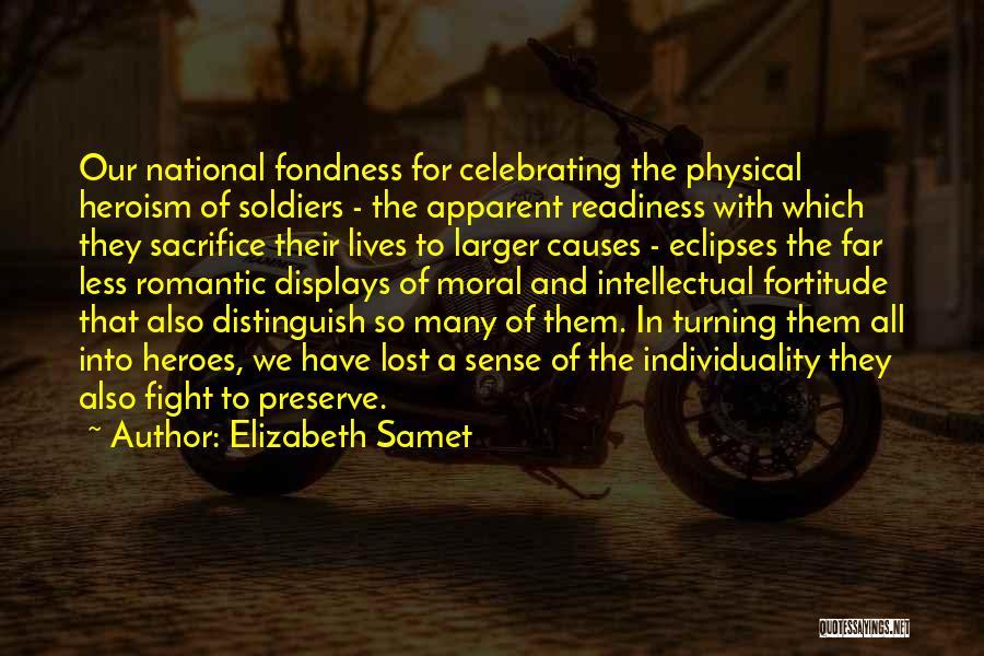 War Heroes Quotes By Elizabeth Samet