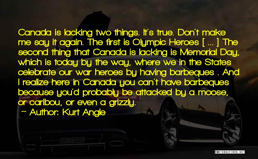 War Heroes Quotes By Kurt Angle