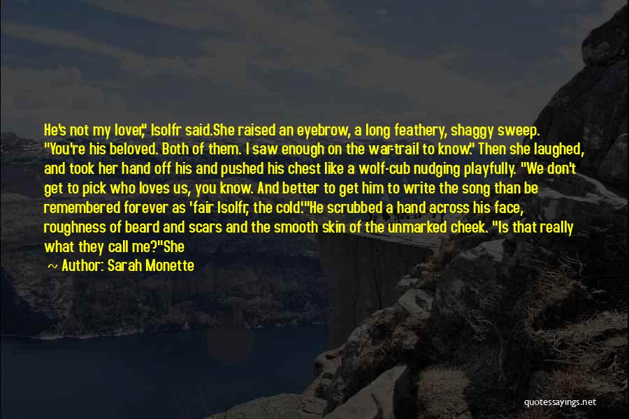 War Heroes Quotes By Sarah Monette