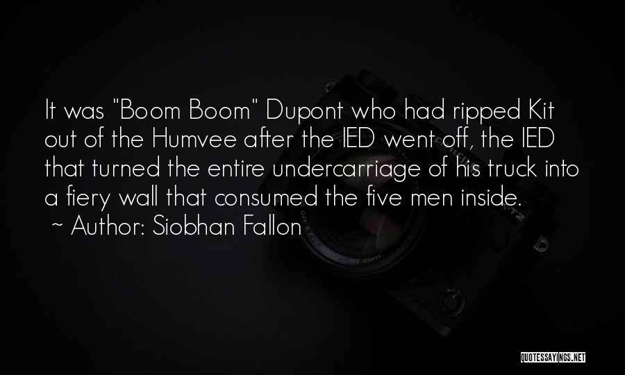 War Heroes Quotes By Siobhan Fallon