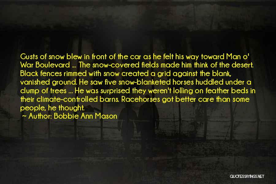 War Horses Quotes By Bobbie Ann Mason