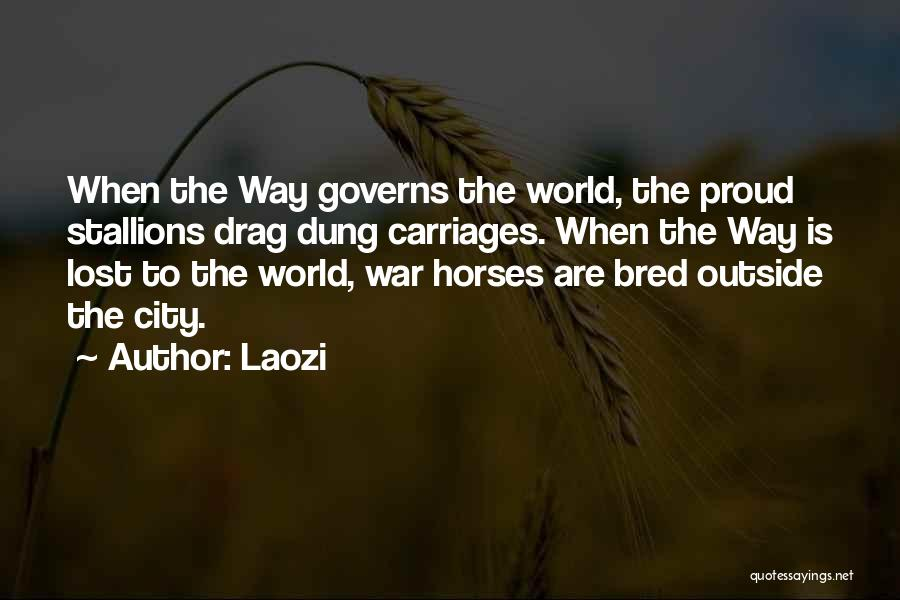 War Horses Quotes By Laozi