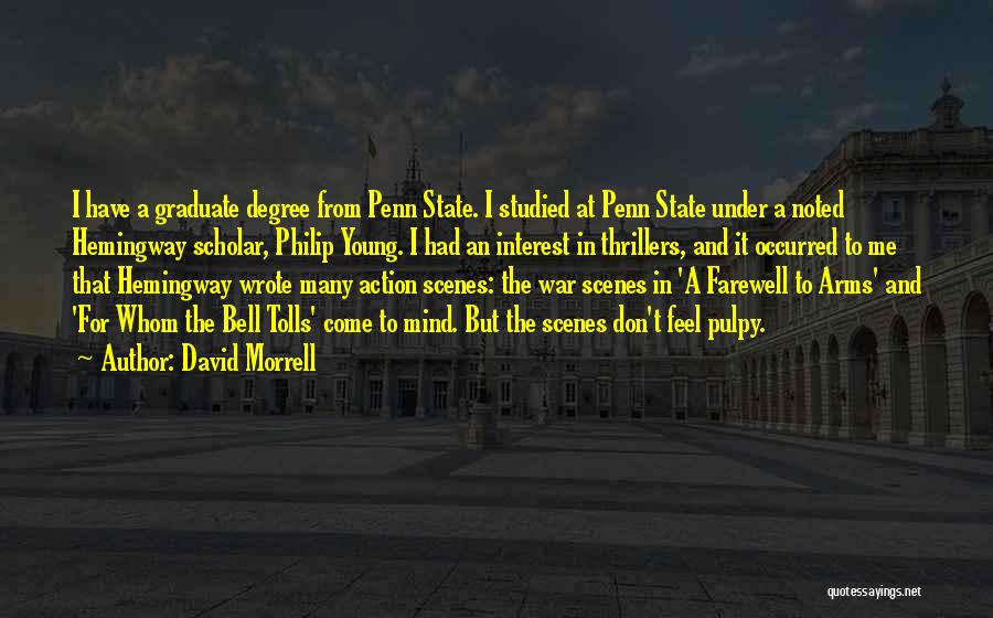 War In Farewell To Arms Quotes By David Morrell