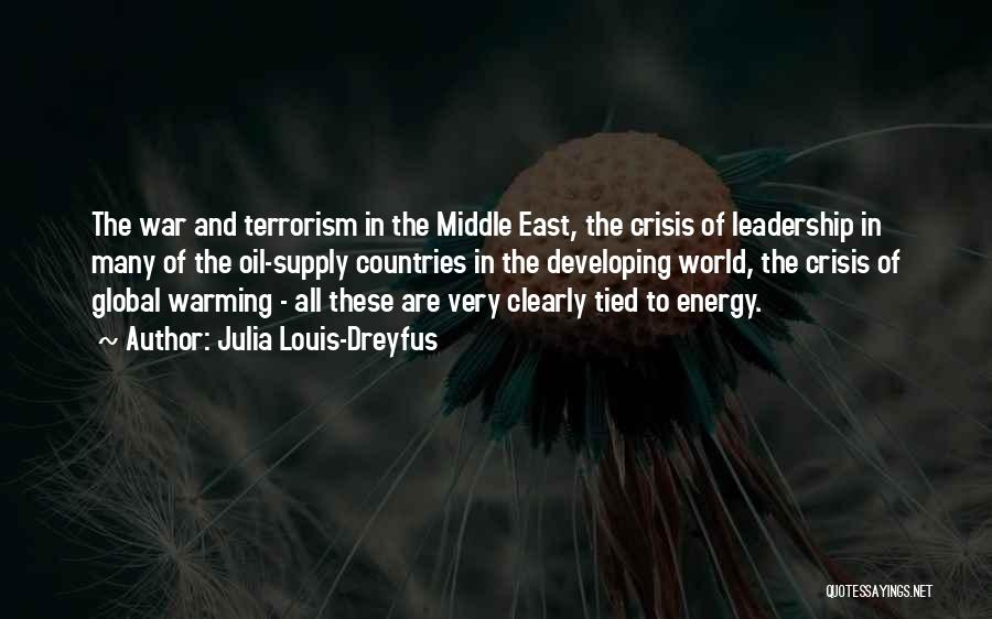 War In Middle East Quotes By Julia Louis-Dreyfus